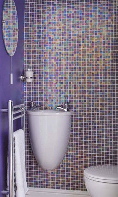 blue bathroom wall tiles