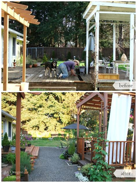 backyard renovations before and after the backyard makeover reveal an oregon cottage
