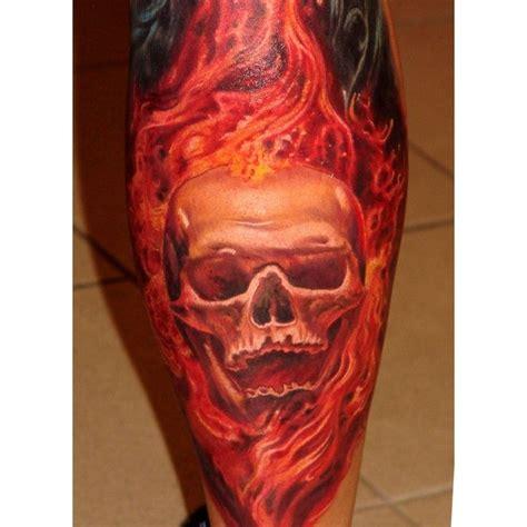 skull fire tattoo designs tattoos skull on skull tattoos