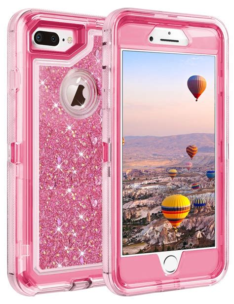 for iphone 8 8 plus shockproof armor glitter fits otterbox defender clip ebay