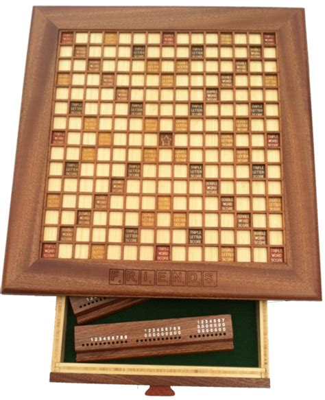 scrabble boards to buy custom wooden scrabble board made in your choice of wood