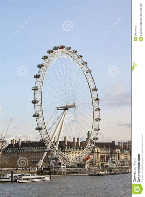 thames river capital view of the london eye editorial photography image 31626442