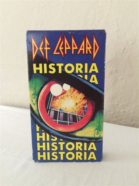 Vhs Def Leppard Archive 17 best images about vintage concert musical and sing along on