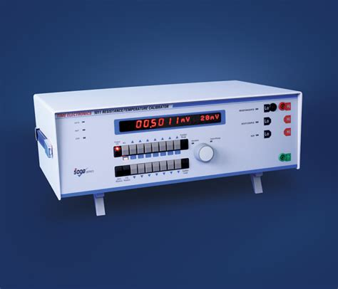 decade resistance box calibration procedure 5011 resistance temperature calibrator time electronics