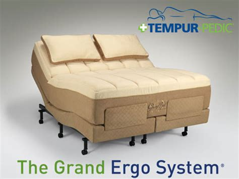 tempur pedic grand bed tempur pedic grand ergo adjustable mattress base