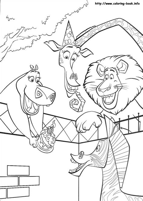 Madagascar 2 Coupon Free Madagascar 2 Coloring Pages And Www Coloring Book Info