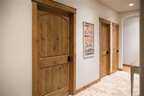 modern rustic solid knotty six 322 best interior doors images on decorating