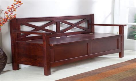 wooden storage benches indoor storage benches indoor indoor storage bench with back