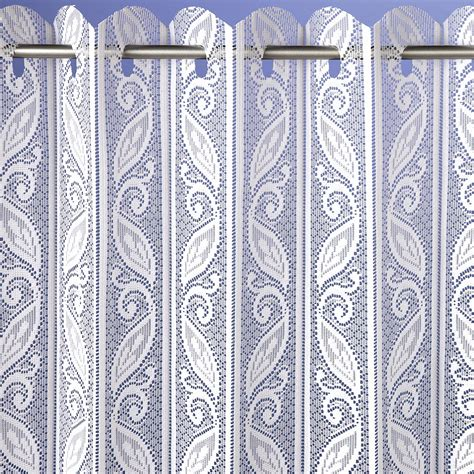 Blinds Or Curtains Corsica Lace Pleated Blind Net Curtains Curtains Linen4less Co Uk