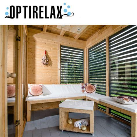 sauna haus sauna garten haus h430 optirelax