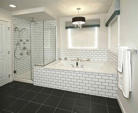 master bathroom shower ideas subway tile designs design
