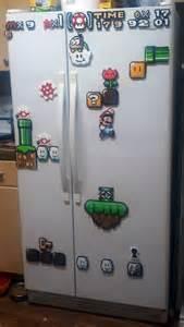 Super Mario Fridge Magnets