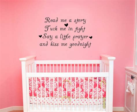 funky nursery rhyme wall quotes
