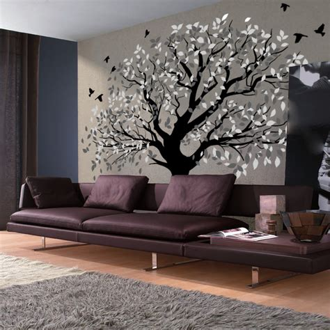 Tree Murals For Walls giant wall mural stickers peenmedia com