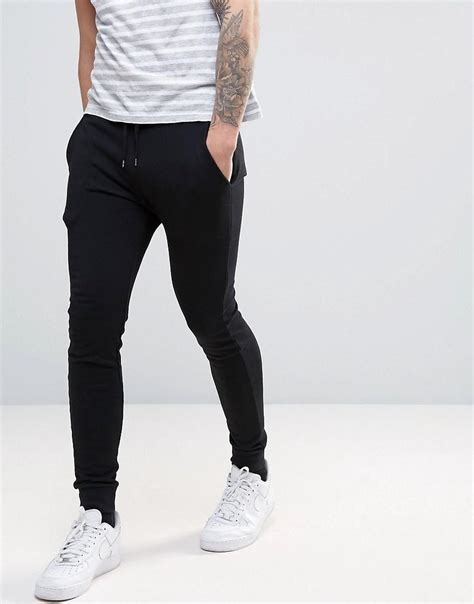 Asos Joggers In Black by Asos Jogger In Black In Black For Lyst