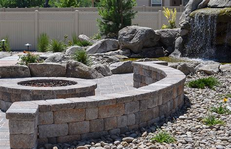 nevada backyard 7 inspiring ideas for fire pits turf