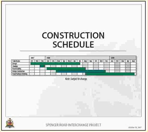 construction schedule template sle construction timeline 2 shisler construction