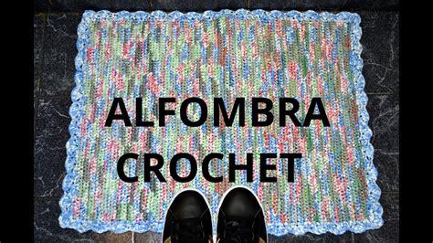 como hacer una alfombra con retazos de tela todo como hacer una alfombra en tejido crochet con bolsas