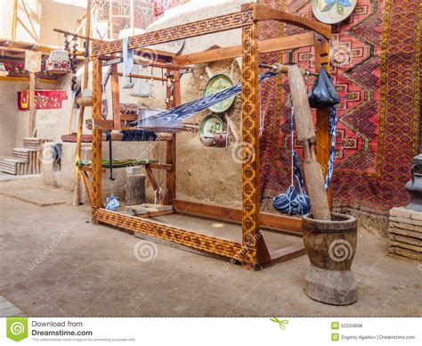 House Of Loom by Ancient Loom Stock Photo Image 52234898