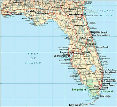 a map of florida florida map maps details
