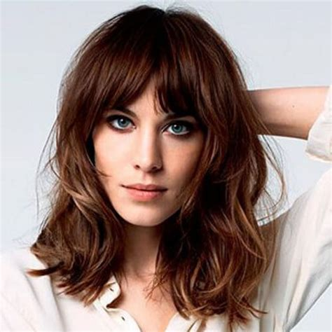 50 dazzling medium length hairstyles hair motive hair medium length hairstyles with bangs hairstyles