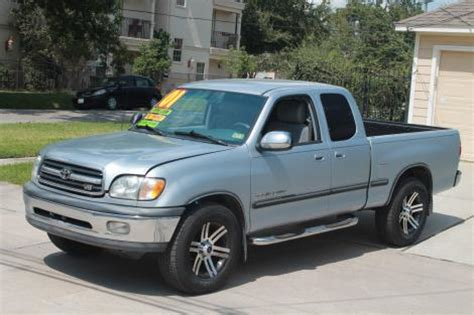 2000 Toyota Tundra For Sale 2000 Toyota Tundra Sr5 For Sale In Houston Tx 7000