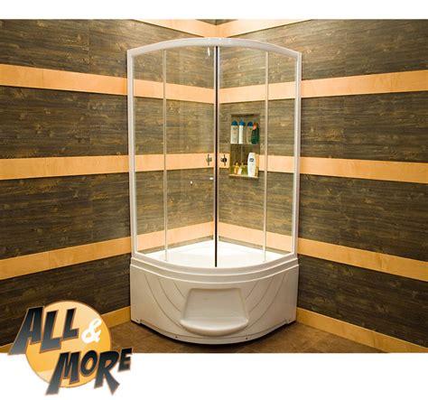piatti doccia alti all more it cabina box doccia semicircolare trasparente