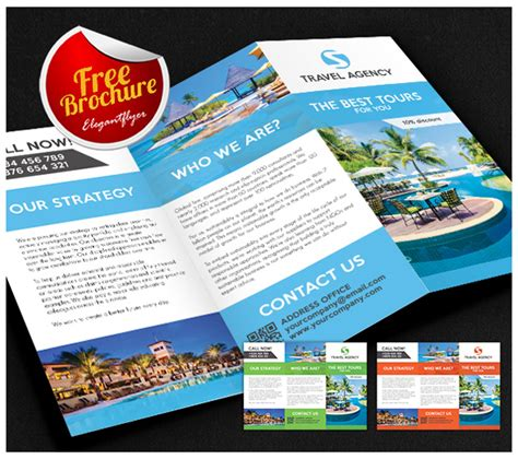 island brochure template 8 free cruise brochure templates bates on design