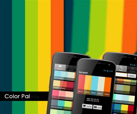color pal 9 essential android apps for web designers
