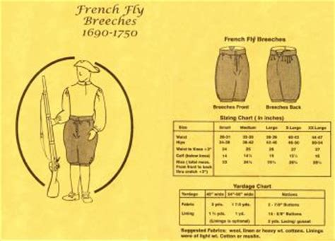 flight pattern in french patterns of time 1690 1750 men s french fly breeches