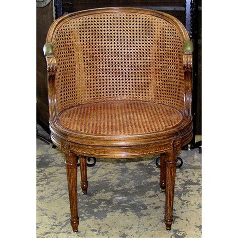 fauteuil de bureau louis xvi