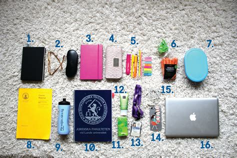 What S In A Vacuum What S In My School Backpack Study In Sweden The
