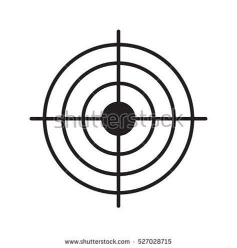 printable aiming targets gun target stock images royalty free images vectors