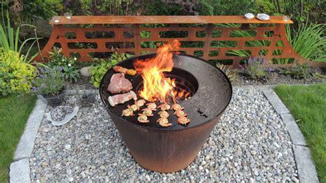 feuerschale mit grillplatte feuerschale mit grill tepro feuerstelle feuerschale