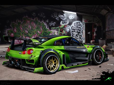 custom nissan skyline r35 r34 gtr nissan skyline r35 gtr kit time attack full