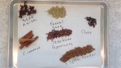 asian  spice powder recipe