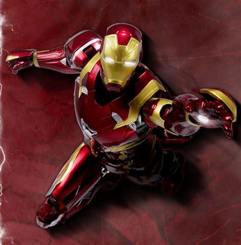 Marvel Iron 3 Series 003 Iron Mini Figure sh figuarts civil war figures lineup speculation marvel