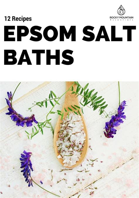 Detox Bath Recipes Without Epsom Salt by Diy Detox Epsom Salt Bath Gold Mountain
