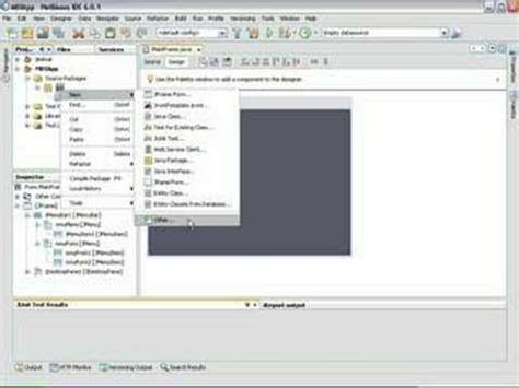 tutorial java fx indonesia how fast we create mdi form with netbeans doovi