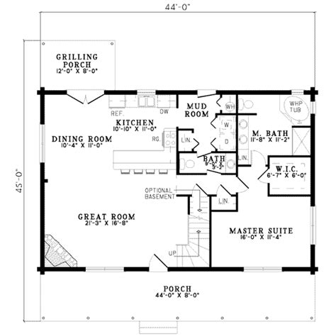 house plans with mudrooms log style house plan 3 beds 2 5 baths 1810 sq ft plan