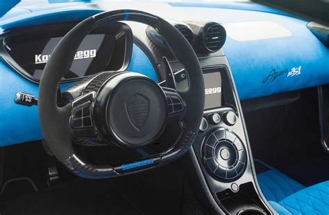 koenigsegg inside koenigsegg agera rs1 bows in new york automobile magazine