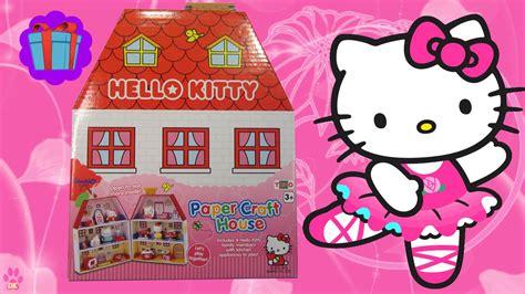hello kitty house youtube hello kitty papercraft house 2016 new youtube