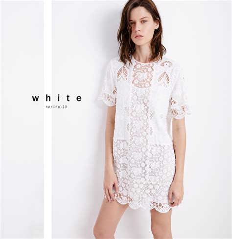 Zara New Style Mt zara offers all white looks for