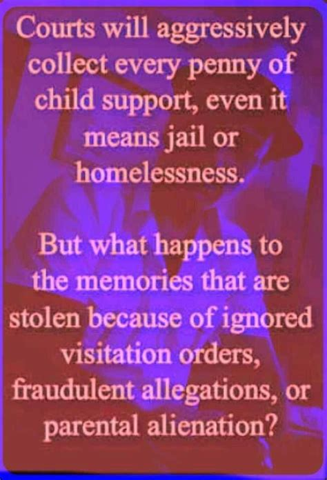 remember that a custodial parent can t refuse visitation if child support hasn t been paid