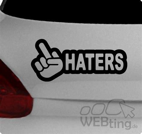 Tuning Aufkleber Auto Shop by Jdm Aufkleber Haters Sticker Decals Shocker Sponsoren