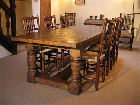 The Heavy Table by Heavy Oak Dining Table Period Style Table