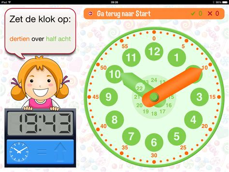 tafel monster gebruikte apps voor de opdracht rekenen op papier vs ipad