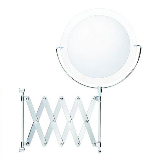 wall mounted extendable mirror bathroom wall mounted extendable makeup mirror in wall mirrors