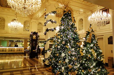 hotel lobby christmas decorations 2016 best decorations in new orleans