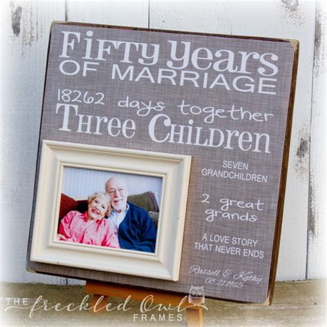 Wedding Anniversary Songs For Grandparents by 50th Anniversary Gift Golden Anniversary Fifty Years Of